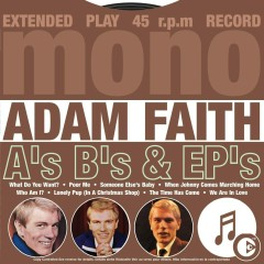 A's B's & EP's - Adam Faith