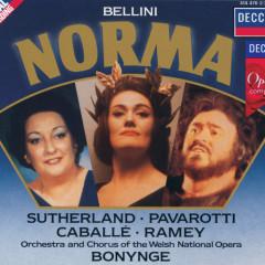 Bellini: Norma - Dame Joan Sutherland, Luciano Pavarotti, Montserrat Caballe, Samuel Ramey, Chorus of the Welsh National Opera