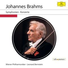 Johannes Brahms: Symphonien & Konzerte (Live) - Wiener Philharmoniker, Leonard Bernstein
