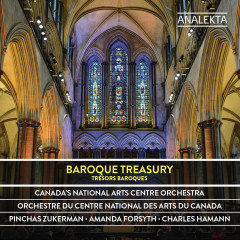 Baroque Treasury - Canada's National Arts Centre Orchestra, Pinchas Zukerman, Amanda Forsyth