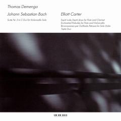 J.S. Bach / Elliott Carter - Thomas Demenga