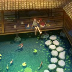 Peaceful Anime - Quiet Gaze