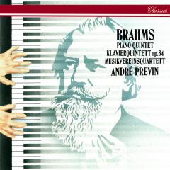 Brahms: Piano Quintet - Andre Previn, Musikverein Quartet