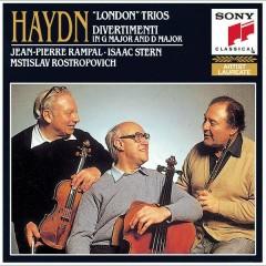 Haydn: London Trios - Jean-Pierre Rampal, Isaac Stern, Mstislav Rostropovich