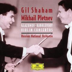 Kabalevsky:Violin Concerto/Glazunov: Violin Concerto/Tchaikovsky: Souvenir d'u lieu cher, &c. - Gil Shaham, Russian National Orchestra, Mikhail Pletnev