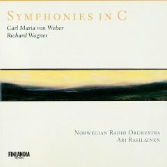 Wagner / Weber : Symphonies in C - Norwegian Radio Orchestra, Ari Rasilainen