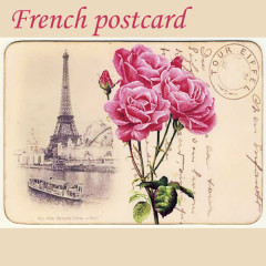 French Postcard - Various Artists