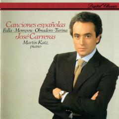 Canciones espanõlas - Jose Carreras, Martin Katz