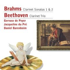 Brahms: Clarinet Sonatas 1 & 2 - Beethoven: Clarinet Trio - Gervase de Peyer, Jacqueline du Pré, Daniel Barenboim