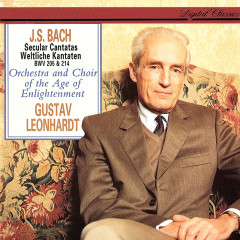 J.S. Bach: Secular Cantatas BWV 205 & 214 - Gustav Leonhardt, Choir of the Age of Enlightenment, Orchestra Of The Age Of Enlightenment