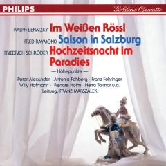 Im Weißen Rössl - Saison in Salzburg - Hochzeitsnacht im Paradies - Antonia Fahberg, Franz Fehringer, Herta Talmar, Willi Hofmann, Renate Holm