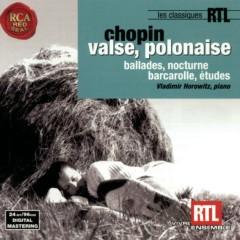 Chopin: Valse, Polonaise: Ballades, Nocturnes, Barcarolle, Études - Vladimir Horowitz
