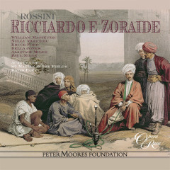 Rossini: Ricciardo e Zoraide - Bruce Ford, Nelly Miricioiu, David Parry, Academy of St. Martin in the Fields