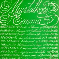 Muistatkos Emma - Suosittuja iskelmiä vuosilta 1928-1935 - Various Artists
