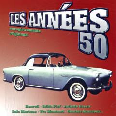 Les Anneés 50 Vol. 2 (Enregistrements Originaux) - Various Artists