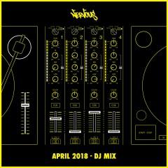 Nervous April 2018 - DJ Mix - Various Artists