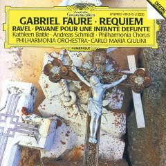 Fauré: Requiem / Ravel: Pavane pour une infante défunte - Kathleen Battle, Andreas Schmidt, Philharmonia Orchestra, Carlo Maria Giulini, Philharmonia Chorus