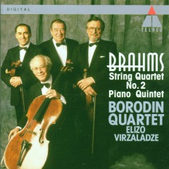 Brahms : Piano Quintet & String Quartet No.2 - Borodin Quartet