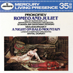 Prokofiev: Romeo and Juliet - Suites Nos. 1 & 2 / Mussorgsky: A Night on the Bare Mountain - Minneapolis Symphony Orchestra, Stanislaw Skrowaczewski, London Symphony Orchestra, Antal Doráti