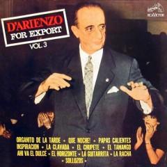 For Export, Vol. 3 - Juan D'Arienzo y su Orquesta Típica