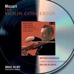 Mozart: Violin Concertos - Arthur Grumiaux, London Symphony Orchestra, Sir Colin Davis
