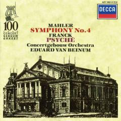 Mahler: Symphony No.4 / Franck: Psyché - Margaret Ritchie, Royal Concertgebouw Orchestra, Eduard Van Beinum