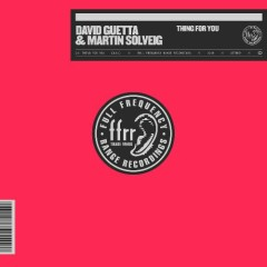Thing For You (Single) - David Guetta, Martin Solveig, Sasha Sloan