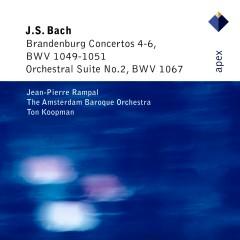 Bach: Brandenburg Concertos Nos. 4 - 6 & Orchestral Suite No. 2 - Ton Koopman