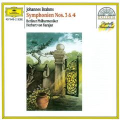 Brahms: Symphonies Nos.3 & 4 - Berliner Philharmoniker, Herbert von Karajan