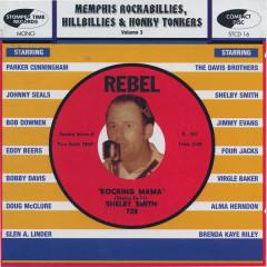Memphis Rockabillies, Hillbillies & Honky Tonkers, Vol 3 - Various Artists