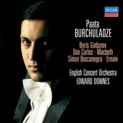 Mussorgsky & Verdi Arias - Paata Burchuladze, English Concert Orchestra, Sir Edward Downes