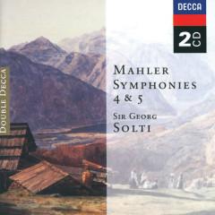 Mahler: Symphonies Nos.4 & 5 - Concertgebouworkest, Chicago Symphony Orchestra, Sir Georg Solti