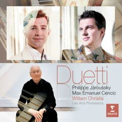 Duetti - Philippe Jaroussky/William Christie/Max Emanuel Cencic/Les Arts Florissants, Les Arts Florissants, Max Emanuel Cenčić, Philippe Jaroussky, William Christie