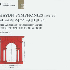 Haydn: Symphonies Vol.4 - The Academy of Ancient Music, Christopher Hogwood