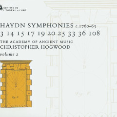 Haydn: Symphonies Vol.2 - The Academy of Ancient Music, Christopher Hogwood