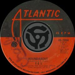 Roundabout [Single Edit] / Long Distance Runaround [Digital 45] - Yes