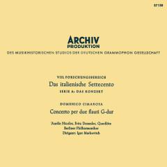 Mozart: Bassoon Concerto, K. 191; Haydn: Sinfonia concertante; Cimarosa: Concerto for two flutes; Schubert: Symphony No. 3 (Igor Markevitch – The Deutsche Grammophon Legacy: Volume 3) - Maurice Allard, Georges Alès, Aurèle Nicolet, Orchestre Des Concerts Lamoureux, Berliner Philharmoniker