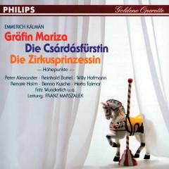 Gräfin Mariza - Die Csárdásfürstin - Die Zirkusprinzessin - Reinhold Bartel, Rita Bartos, Benno Kusche, Herta Talmar, Willi Hofmann