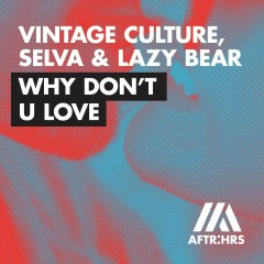 Why Don't U Love - Vintage Culture, Selva, Lazy Bear