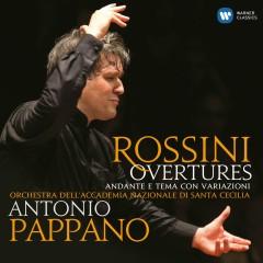 Rossini: Overtures (SD) - Antonio Pappano, Orchestra dell'Accademia Nazionale di Santa Cecilia