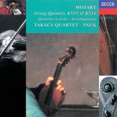 Mozart: String Quintet Nos. 2 & 3, K.515 & K.516 - Takács Quartet, Gyorgy Pauk