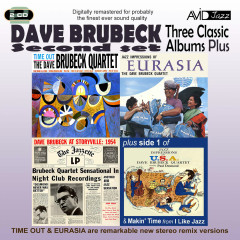 Three Classic Albums Plus (Time Out / Jazz Impressions of Eurasia / Dave Brubeck At Storyville: 1954) (Digitally Remastered) - Dave Brubeck
