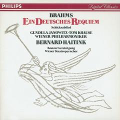 Brahms: Ein Deutsches Requiem/Schicksalslied - Gundula Janowitz, Tom Krause, Wiener Staatsopernchor, Wiener Philharmoniker, Bernard Haitink