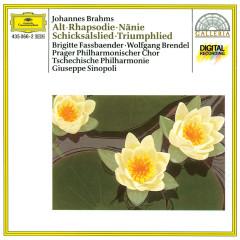 Brahms: Altrhapsodie / Schicksalslied / Triumphlied - Brigitte Fassbaender, Wolfgang Brendel, Prague Philharmonic Chorus, Lubomir Matl, Czech Philharmonic Orchestra
