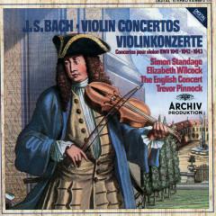 Bach, J.S.: Violin Concertos BWV 1041 & 1042; Double Concerto BWV 1043 - Simon Standage, Elizabeth Wilcock, The English Concert, Trevor Pinnock