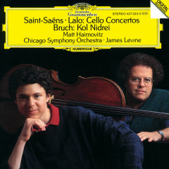 Saint-Saens: Cello Concerto / Lalo: Cello Concerto / Bruch: Kol Nidrei - Matt Haimovitz, Chicago Symphony Orchestra, James Levine
