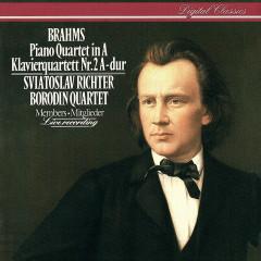 Brahms: Piano Quartet No. 2 - Sviatoslav Richter, Mikhail Kopelman, Dimitri Shebalin, Valentin Berlinsky