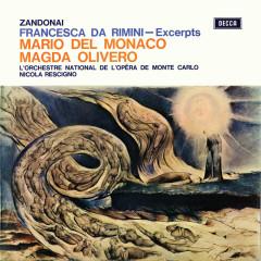 Zandonai: Francesca da Rimini – Excerpts (Opera Gala – Volume 20) - Magda Olivero, Mario Del Monaco, Nicola Rescigno