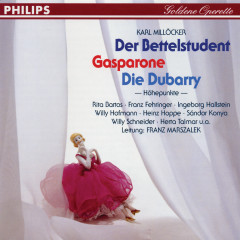 Der Bettelstudent - Gasparone - Die Dubarry - Franz Fehringer, Ingeborg Hallstein, Herta Talmar, Willi Hofmann, Sándor Kónya