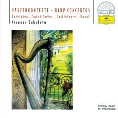 Boieldieu / Saint-Saëns / Tailleferre / Ravel: Harp Concertos - Nicanor Zabaleta, Radio-Symphonie-Orchester Berlin, Ernst Märzendorfer, Orchestre National de l'ORTF, Jean Martinon